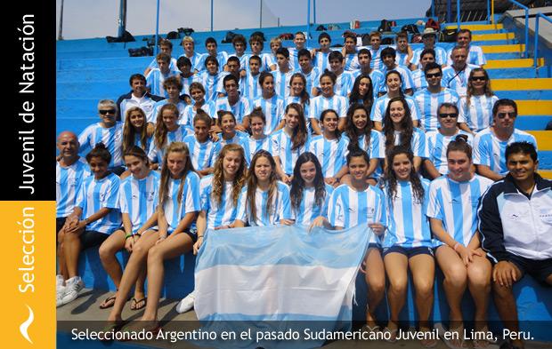 Selección Argentina Juvenil de Natación