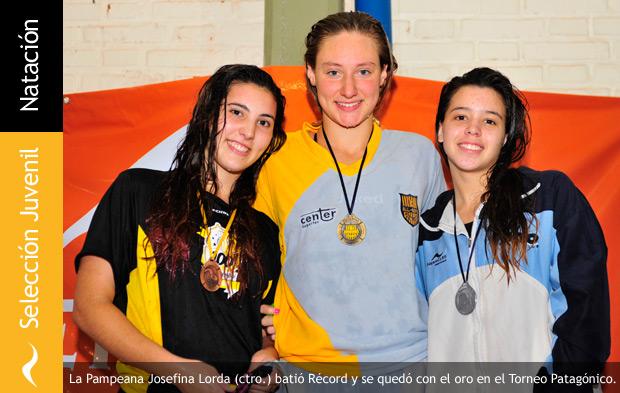 Josefina Lorda establece nuevo récord patagónico en natación