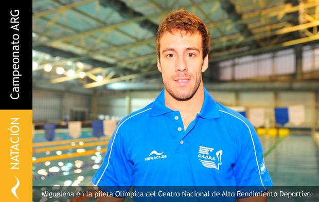 Facundo Miguelena se lleva 3 Oros en el Campeonato Argentino de Natación
