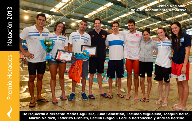 Premio Heracles de Natación 2013