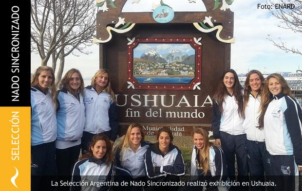 La Selección Argentina de Nado Sincronizado llega a Ushuaia