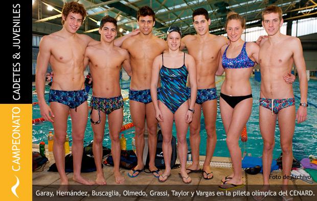 Campeonato Argentino de Natación de Cadetes y Juveniles 2014