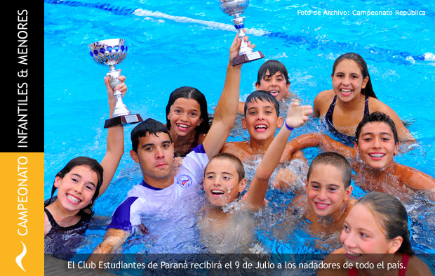 Campeonato Nacional de Natación de Infantiles y Menores 2014