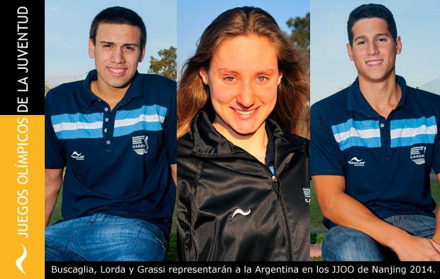 Nadadores argentinos clasificados para los Juegos Olímpicos de Nanjing, China