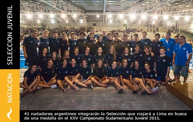 Nadadores Argentinos clasificados para el Campeonato Sudamericano 2015