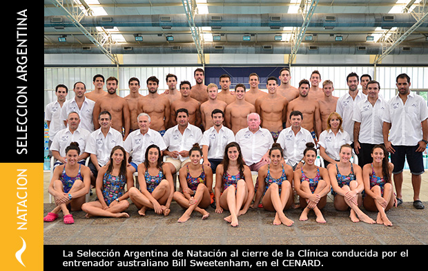 Clínica con el coach Bill Sweetenham: Selección Argentina de Natación