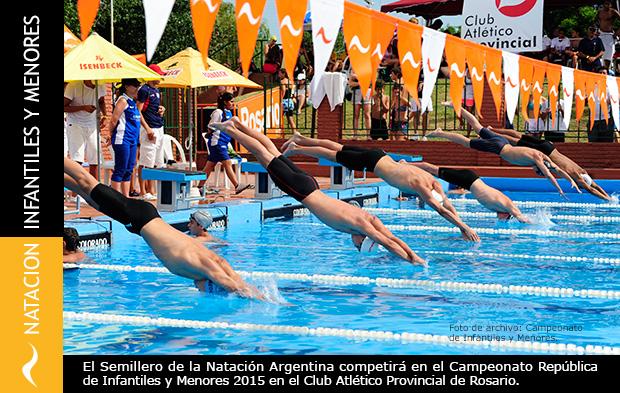 Campeonato República de Natación 2015