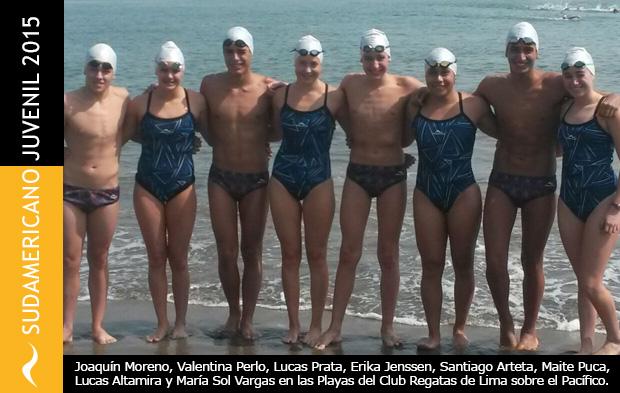Medallero Argentino en el Campeonato Sudamericano Juvenil de Aguas Abiertas