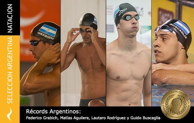 Récords Argentinos de Natación en los Juegos Panamericanos de Toronto 2015