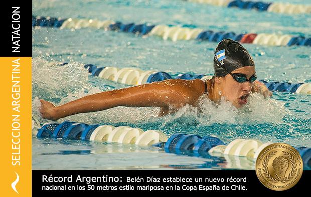 Belén Díaz bate récord de natación y se lleva el Premio Heracles 2015