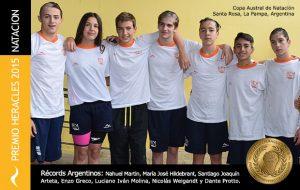Premio Heracles a Récords Argentinos de Natación
