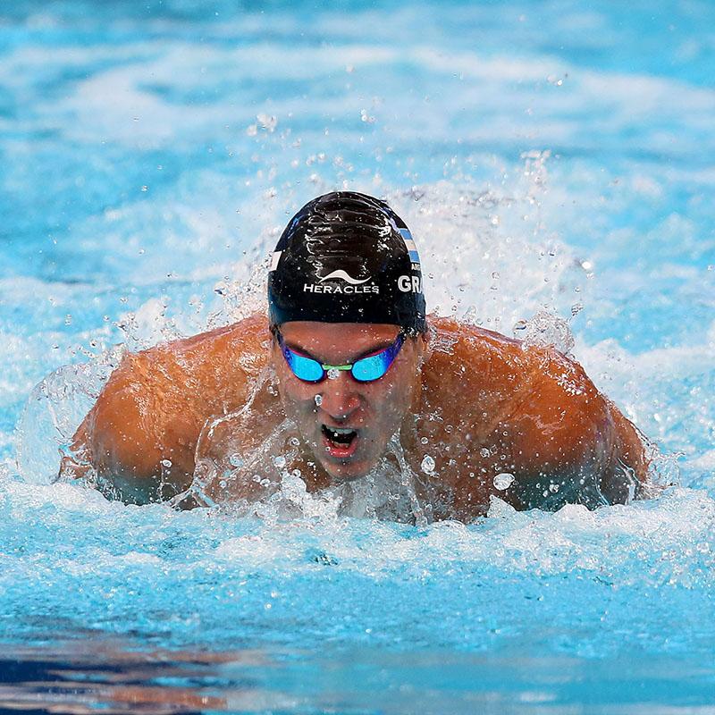 Santiago Grassi compite en Orlando