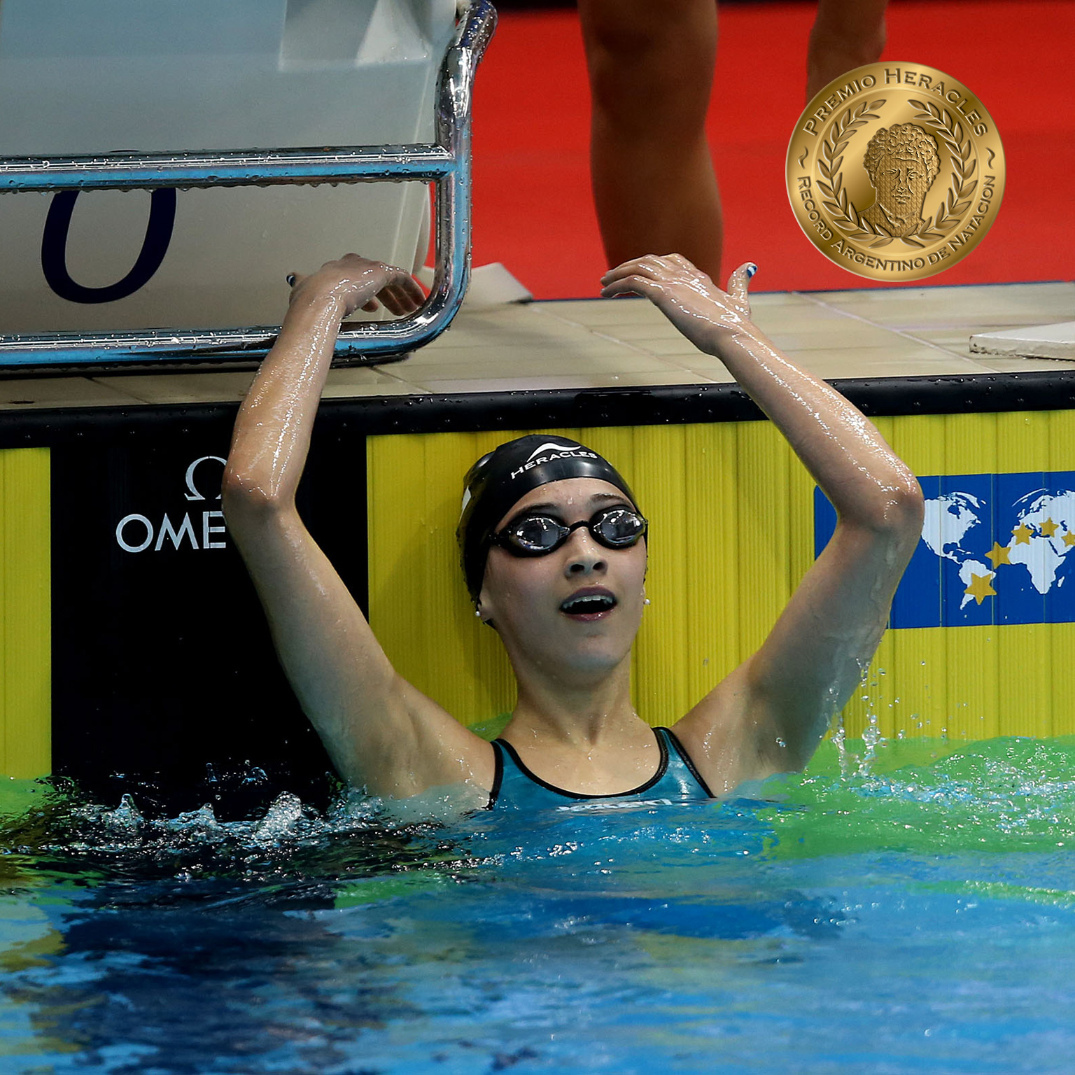 Delfina Pignatiello bate récord argentino juvenil en el Campeonato Sudamericano