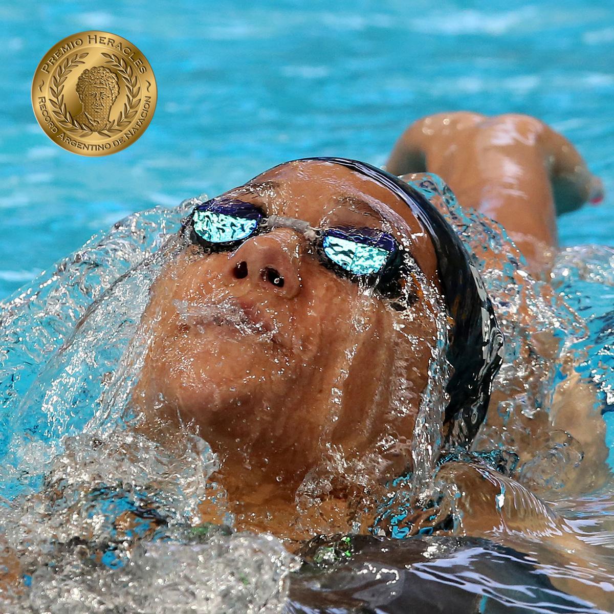 Andrea Berrino consigue medalla y récord en el Campeonato Sudamericano de Natación