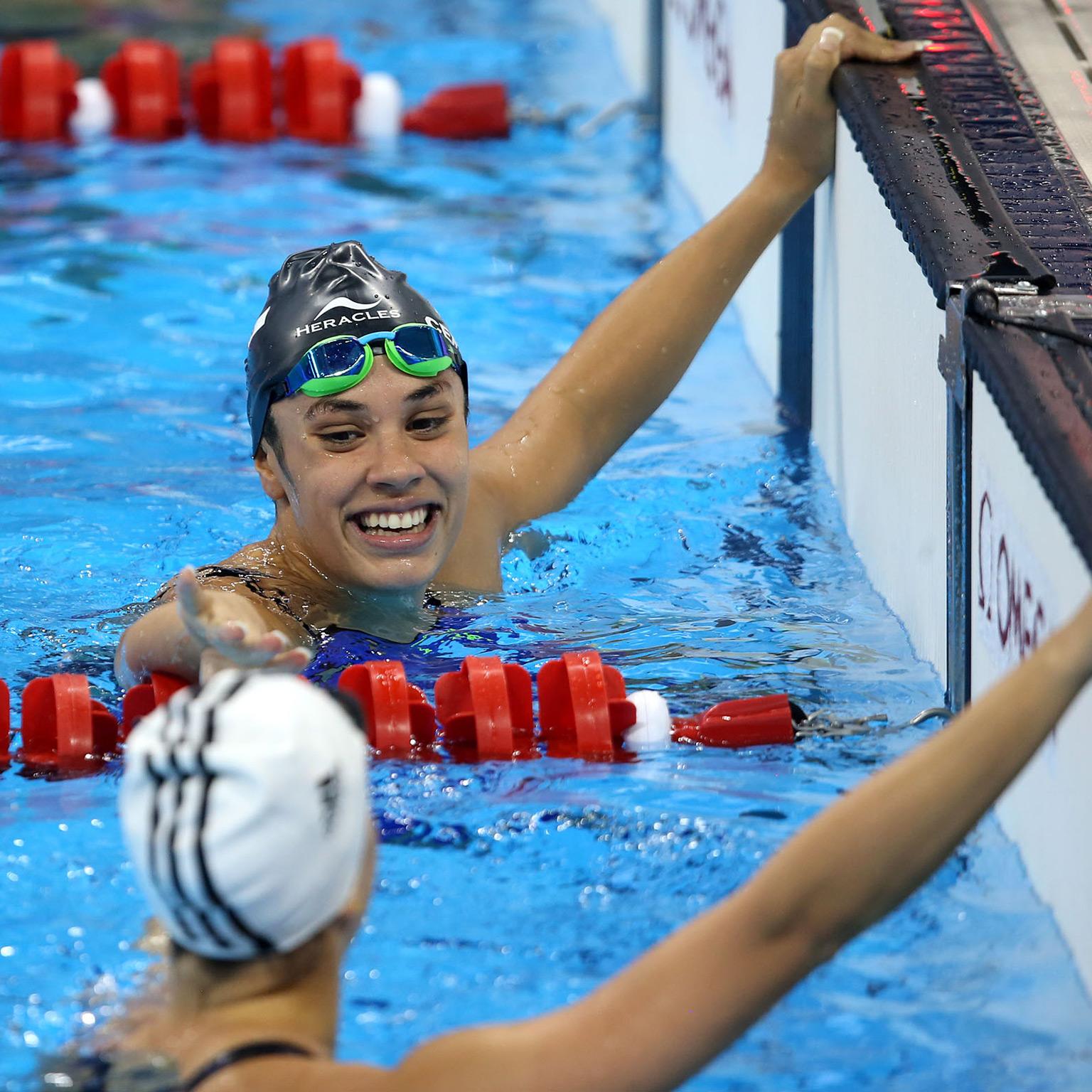 Macarena Ceballos trae el Oro y bate Récord en Brasil