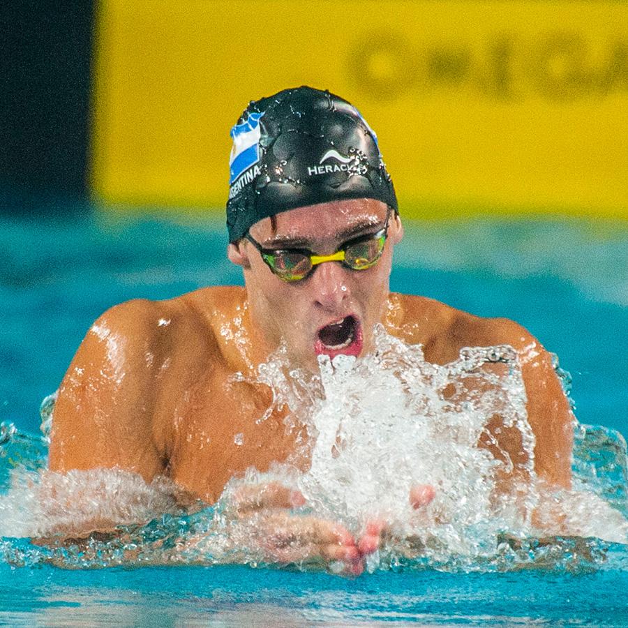 Gabriel Morelli obtiene 6 medallas en el Campeonato Sudamericano Universitario de Natación