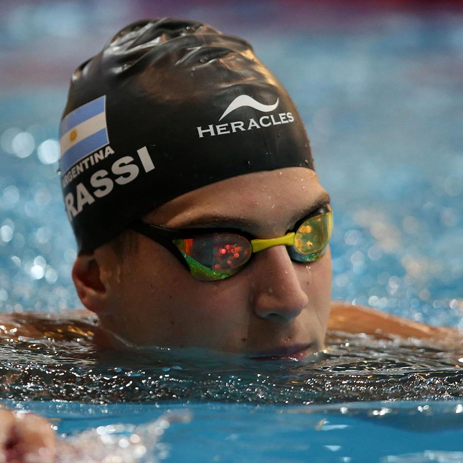 Off-the-record: Entrenamientos de Santiago Grassi en la altura en pileta olímpica de La Loma, Mexico.