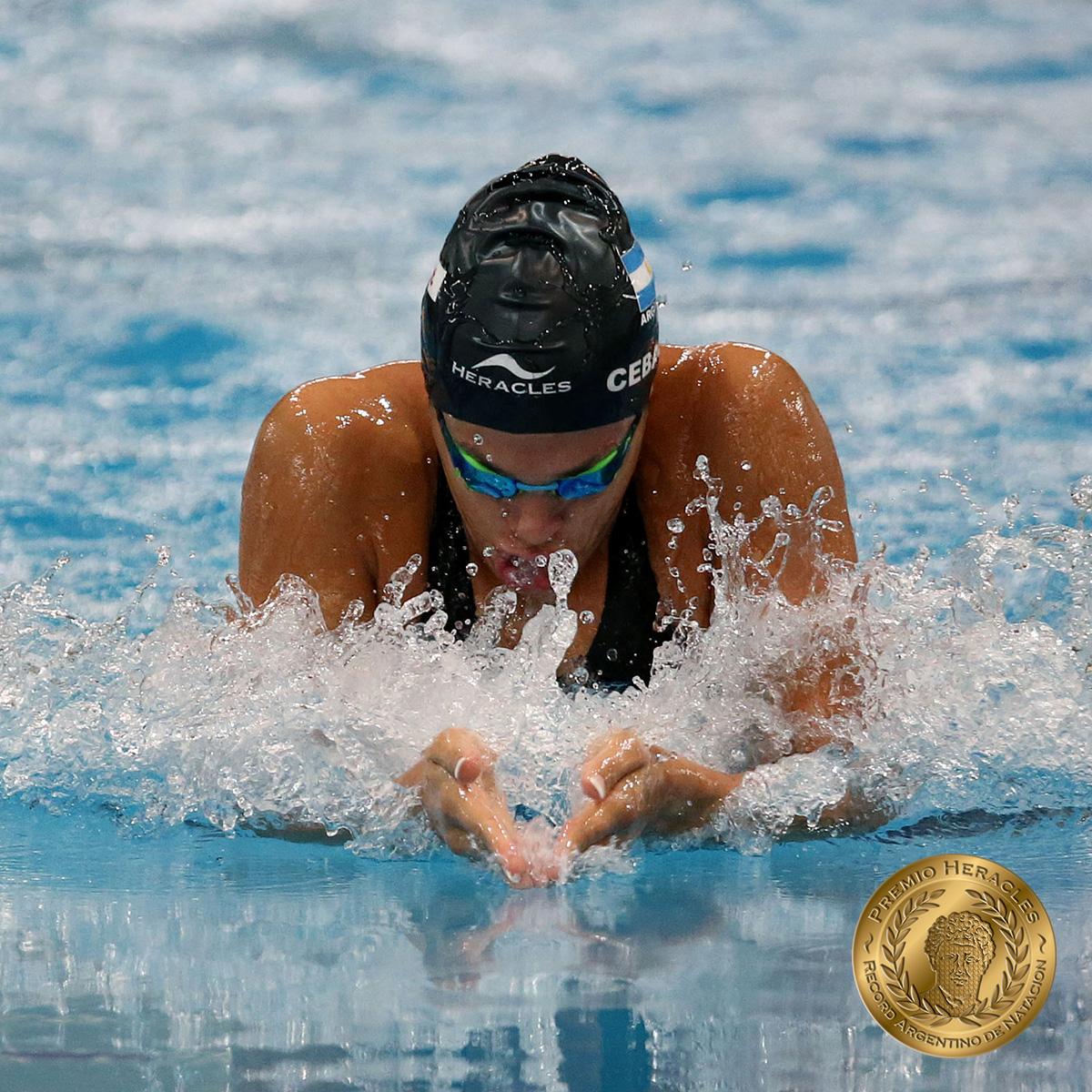 Macarena Ceballos bate récord argentino y récord sudamericano en Brasil