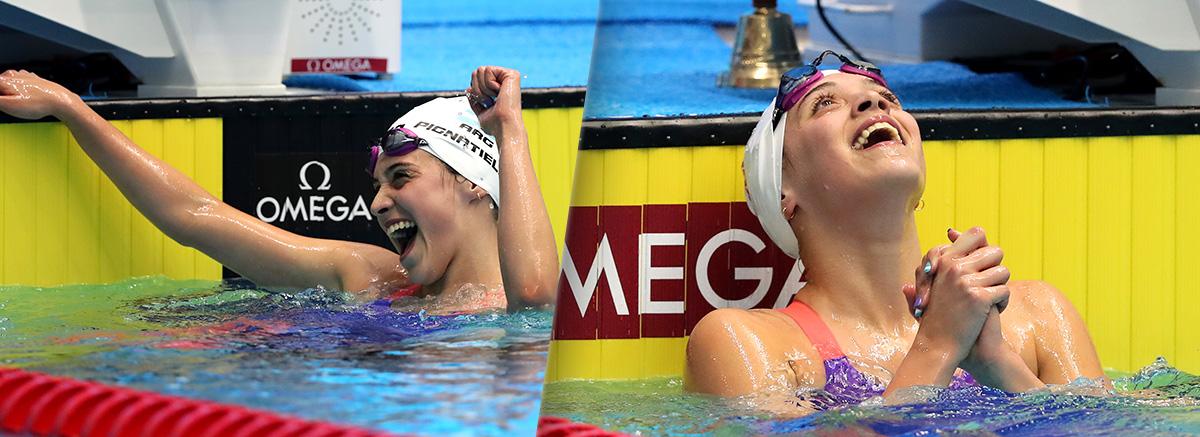 Doble medalla de Oro para Delfina Pignatiello en el Campeonato Mundial Junior