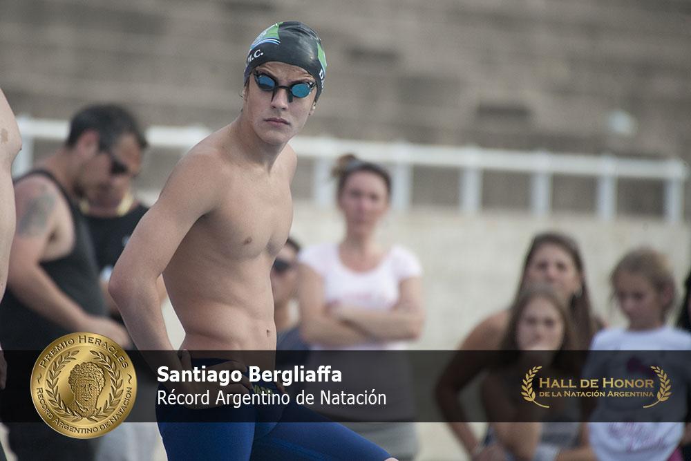 Santiago Bergliaffa: Premio Heracles de Natación