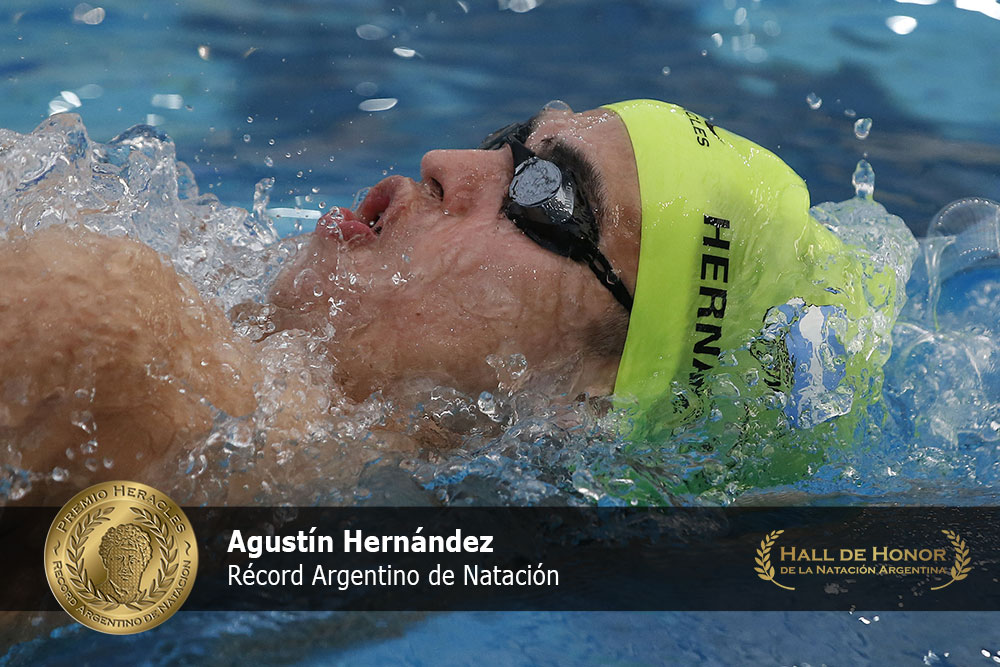 Agustín Hernández: Premio Heracles de Natación