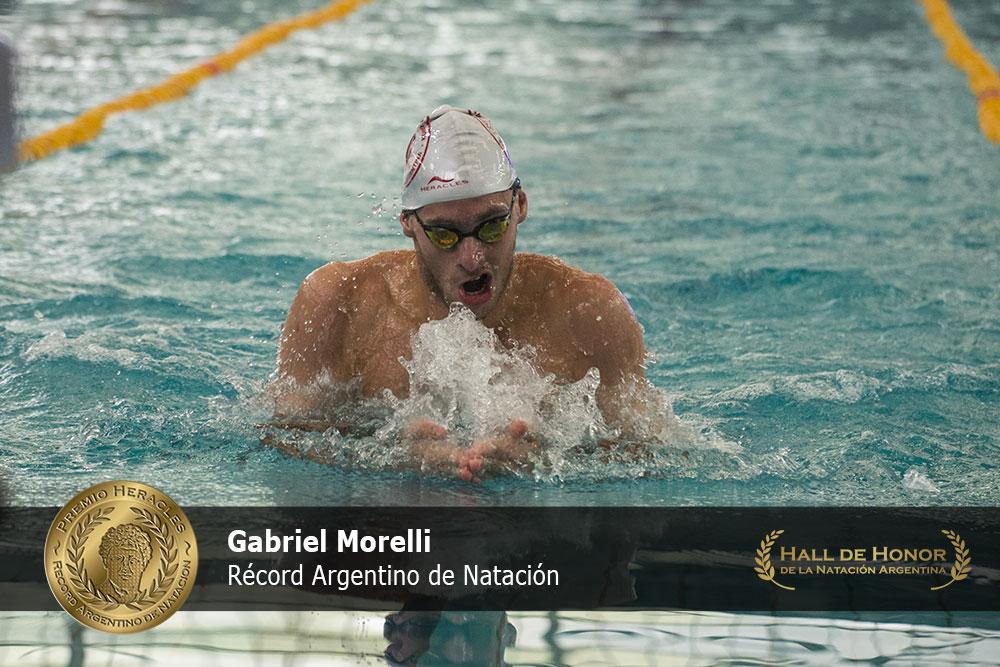 Gabriel Morelli: Premio Heracles de Natación