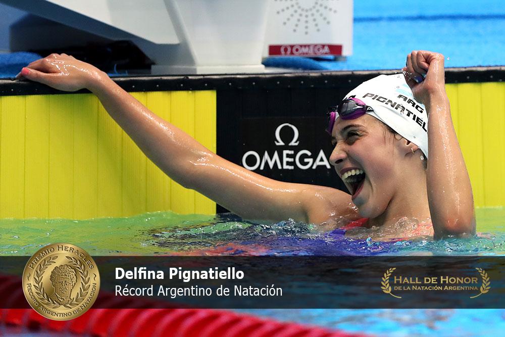 Delfina Pignatiello: : Premio Heracles de Natación