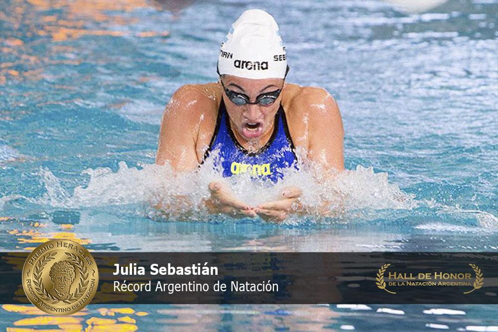 Julia Sebastián: : Premio Heracles de Natación