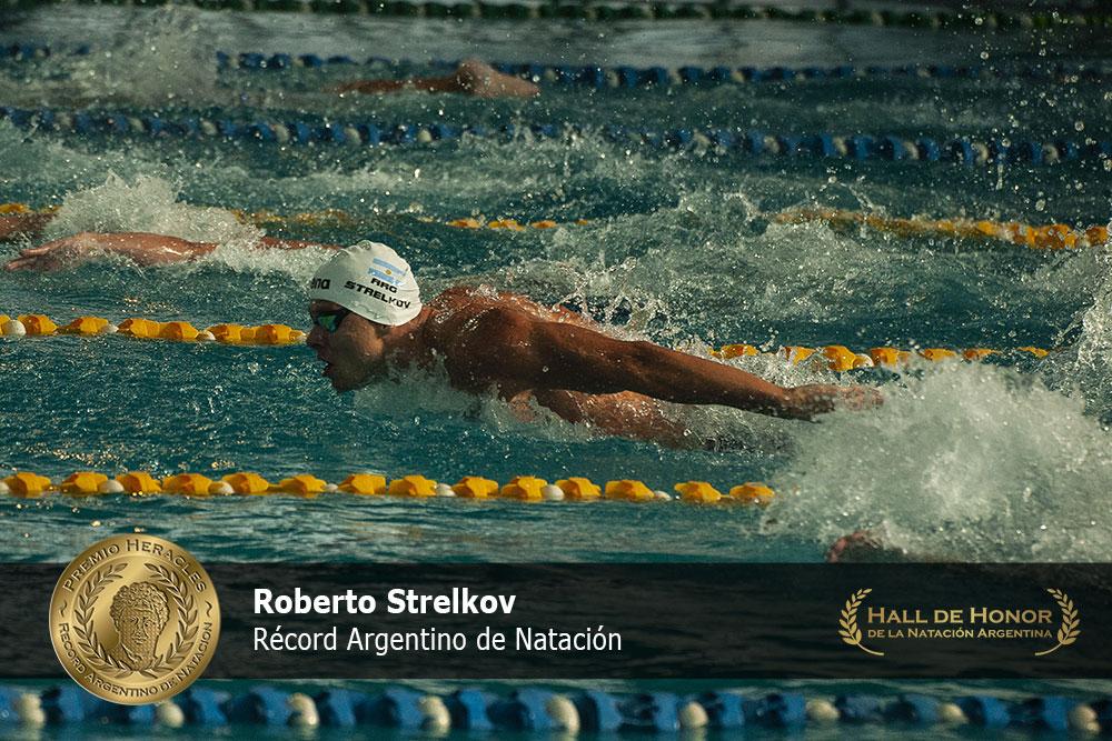 Roberto Strelkov: Premio Heracles de Natación