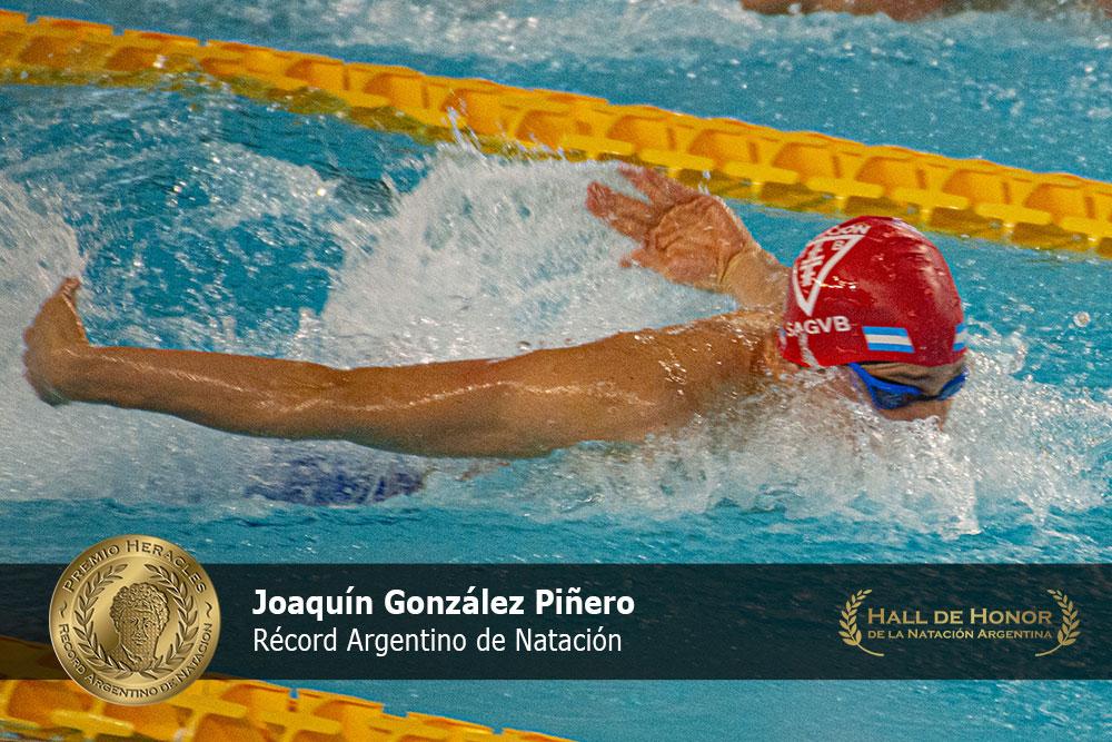 Joaquín González Piñero: Premio Heracles de Natación
