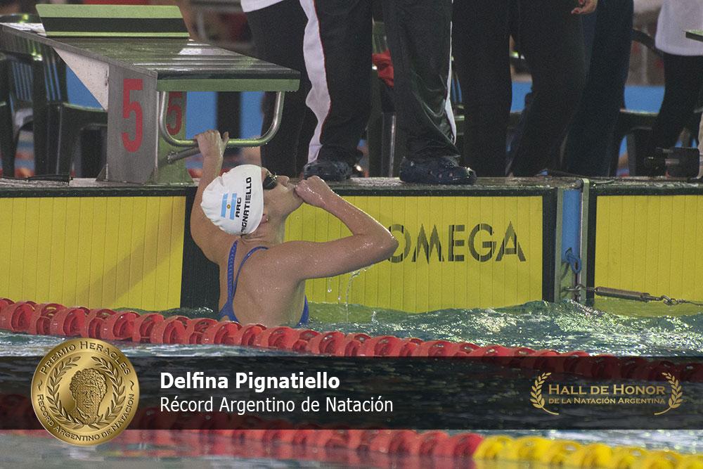Delfina Pignatiello: Premio Heracles de Natación