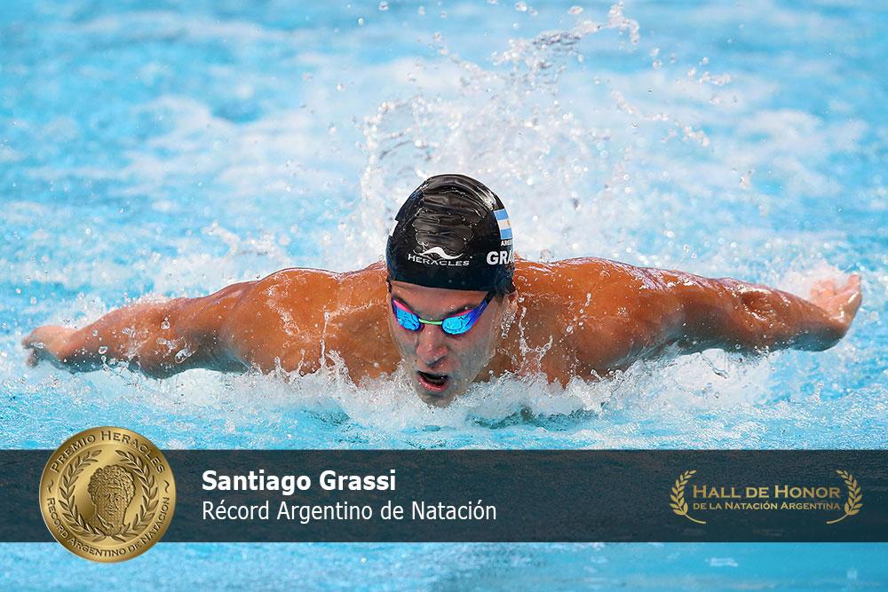Santiago Grassi: Premio Heracles de Natación