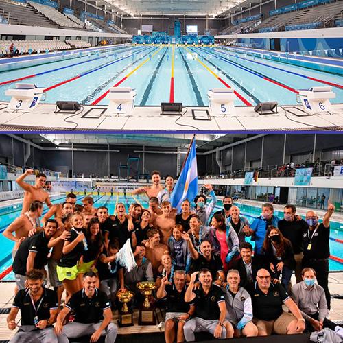La Selección Argentina de Natación se lleva el oro en el Campeonato Sudamericano
